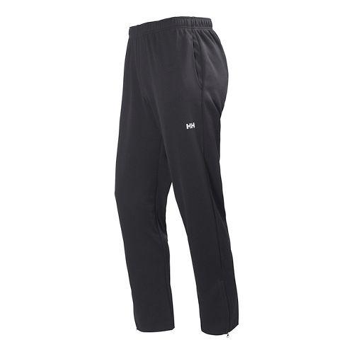 Mens Helly Hansen Active Warm Up Full Length Pants - Black L