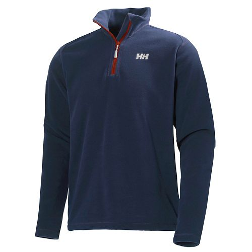 Mens Helly Hansen Daybreaker 1/2 Zip Fleece Long Sleeve Technical Tops - Evening Blue XL ...