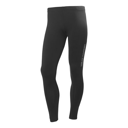 Mens Helly Hansen Pace 3 Fitted Tights - Black XXL