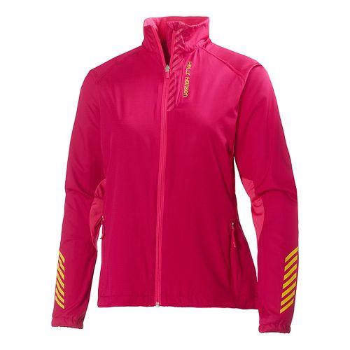 Womens Helly Hansen Pace Running Jackets - Azalea XS