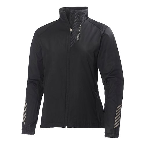 Womens Helly Hansen Pace Running Jackets - Black L