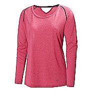 Womens Helly Hansen Early Bird Long Sleeve No Zip Technical Tops