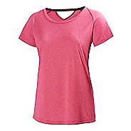 Womens Helly Hansen Early Bird Short Sleeve Technical Tops