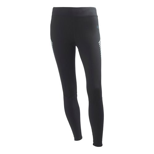Womens Helly Hansen Charger Windblock 2 Fitted Tights - Black XS