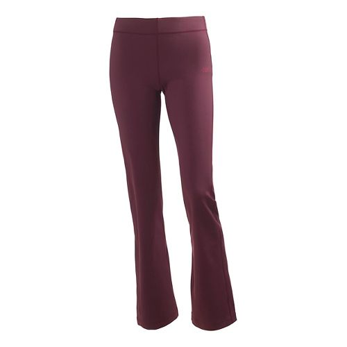 Womens Helly Hansen Pace Stretch Full Length Pants - Bordeaux L