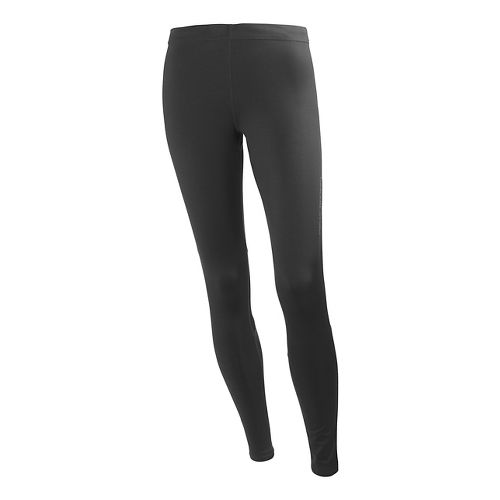 Womens Helly Hansen Pace 3 Fitted Tights - Black XS