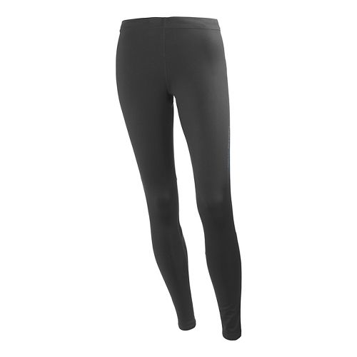Womens Helly Hansen Pace 3 Fitted Tights - Ebony S