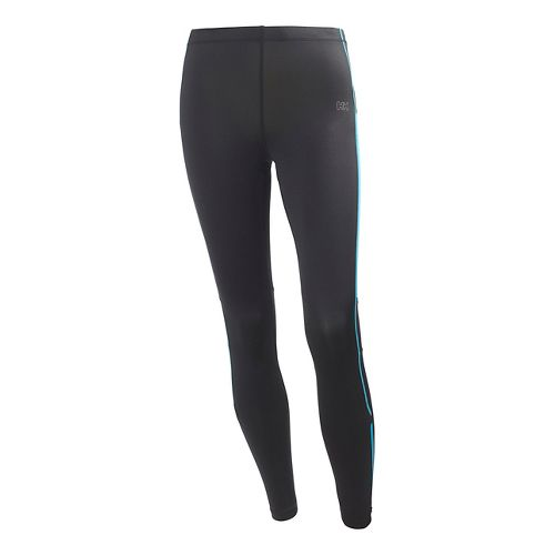 Womens Helly Hansen VTR Core Fitted Tights - Teal XL