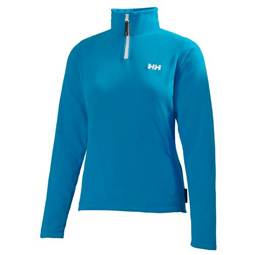 Womens Helly Hansen Daybreaker 1/2 Zip Fleece Long Sleeve Technical Tops - Winter AQ M ...
