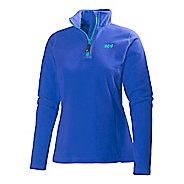 Womens Helly Hansen Daybreaker 1/2 Zip Fleece Long Sleeve Technical Tops