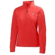 Womens Helly Hansen Daybreaker 1/2 Zip Fleece Long Sleeve Technical Tops