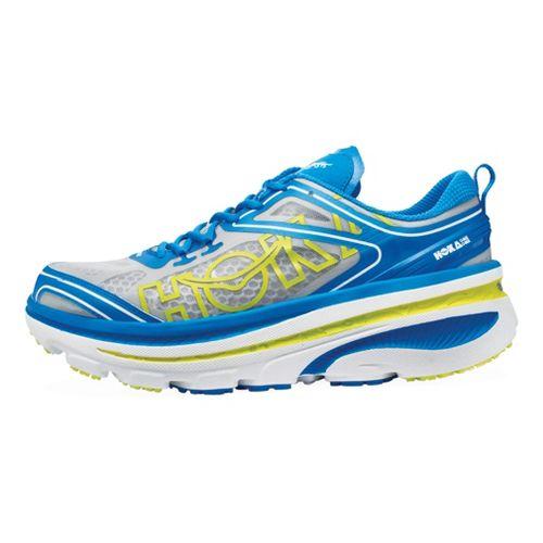 Mens Hoka One One Bondi 3 Running Shoe - Blue/White 9.5