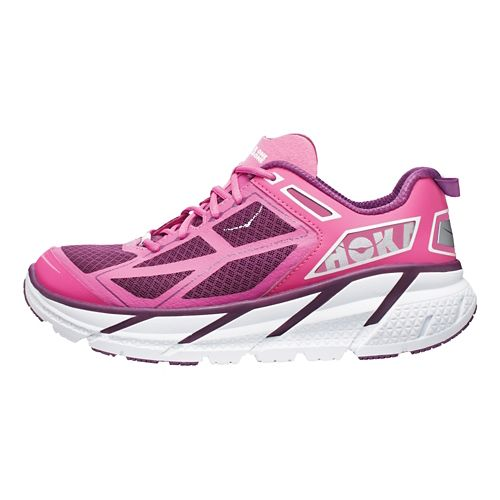 Womens Hoka One One Clifton Running Shoe - Plum 7