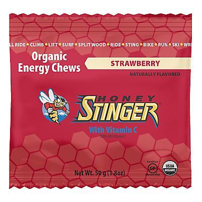 Honey Stinger Organic Energy Chews 12 pack Nutrition