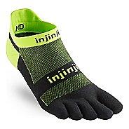 Injinji Footwear RUN Lightweight No Show CoolMax Socks - Grasshopper M