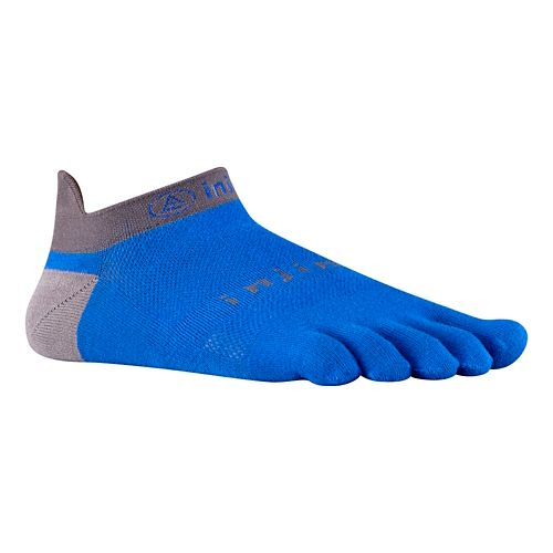 Injinji Footwear RUN Lightweight No Show Socks - Mariner Blue M