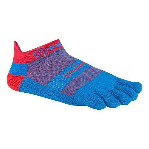 Injinji Footwear RUN Lightweight No Show Socks - Superhero L