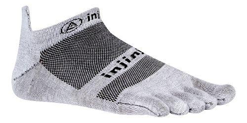 Injinji Footwear RUN Lightweight No Show CoolMax Socks - Black M