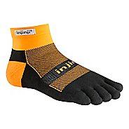 Injinji Footwear RUN Midweight Mini Crew CoolMax Socks