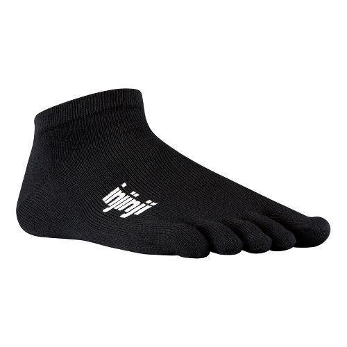 Injinji Footwear SPORT Original Weight Micro Socks - Black L