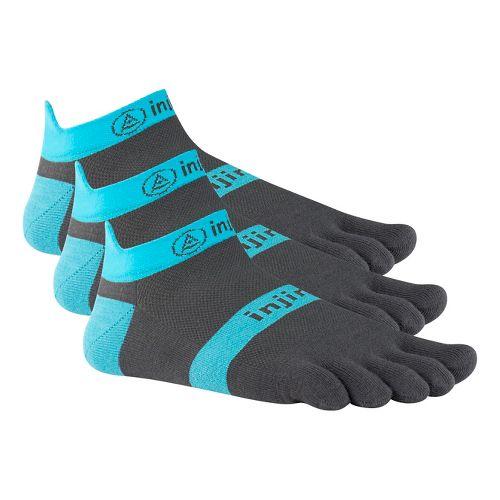 Injinji Footwear RUN Lightweight No Show 3 pack Socks - Turquoise S