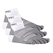 Injinji Footwear RUN Midweight Mini Crew 3 pack Socks