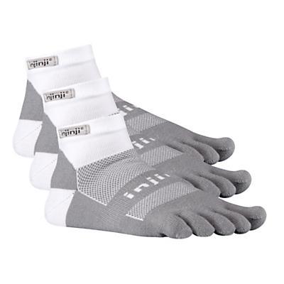 Injinji Footwear RUN Midweight Mini Crew 3 pack Socks