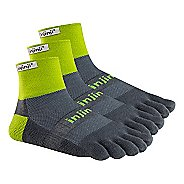 Injinji Footwear TRAIL Midweight Mini-Crew 3 pack Socks