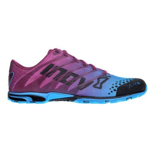 Womens Inov-8 F-Lite 185 Cross Training Shoe - Purple/Blue 9