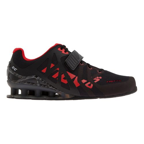 Mens Inov-8 FastLift 335 Cross Training Shoe - Black/Red 10.5