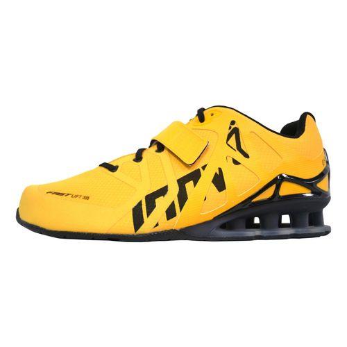 Mens Inov-8 FastLift 335 Cross Training Shoe - Yellow/Black 12.5