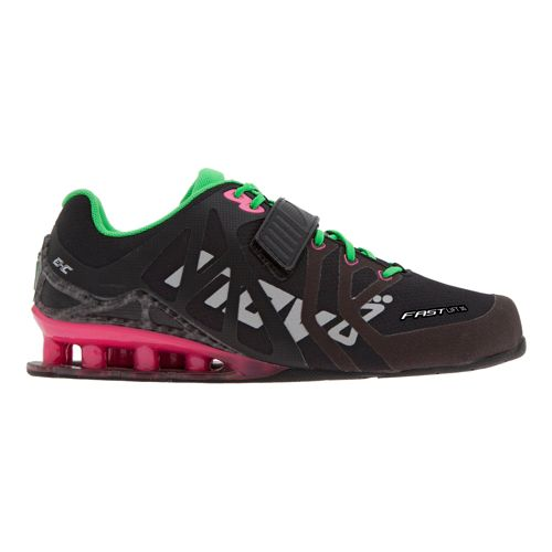 Womens Inov-8 FastLift 315 Cross Training Shoe - Black/Pink 10.5