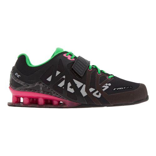 Womens Inov-8 FastLift 315 Cross Training Shoe - Black/Pink 6