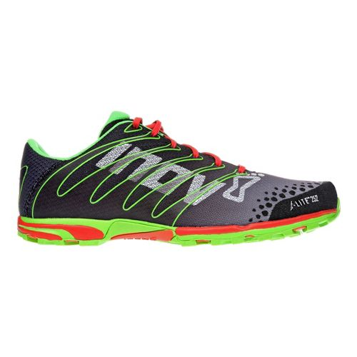 Mens Inov-8 F-Lite 252 Cross Training Shoe - Black/Green 12.5