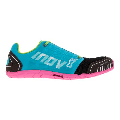 Womens Inov-8 Bare-XF 210 Cross Training Shoe - Aqua/Pink 10.5