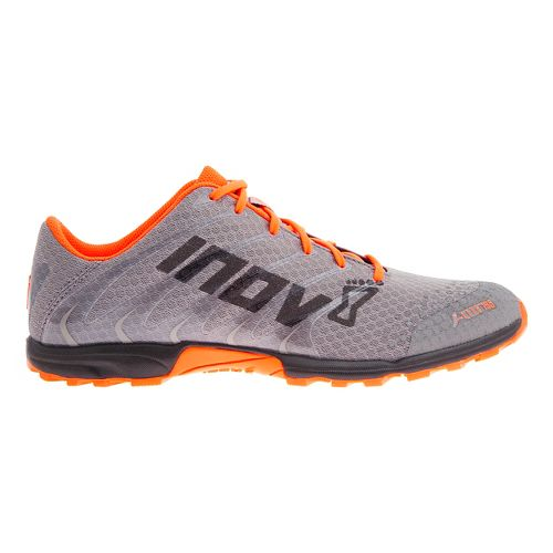 Inov-8 F-Lite 195 Cross Training Shoe - Grey/Orange/Black 9