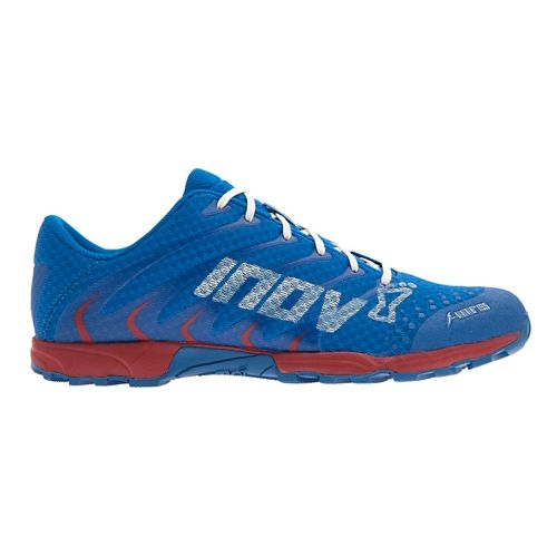 Mens Inov-8 F-Lite 195 Cross Training Shoe - Blue/Red 11.5