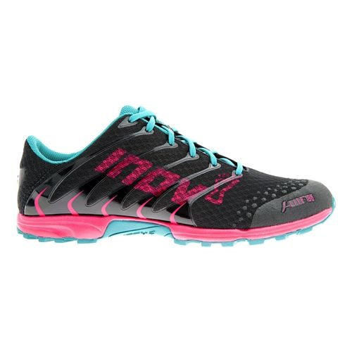Womens Inov-8 F-Lite 195 Cross Training Shoe - Black/Berry 7