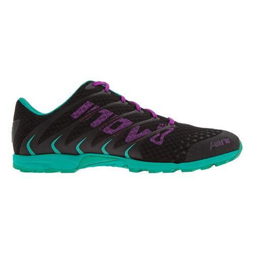 Womens Inov-8 F-Lite 195 Cross Training Shoe - Black/Teal 10.5