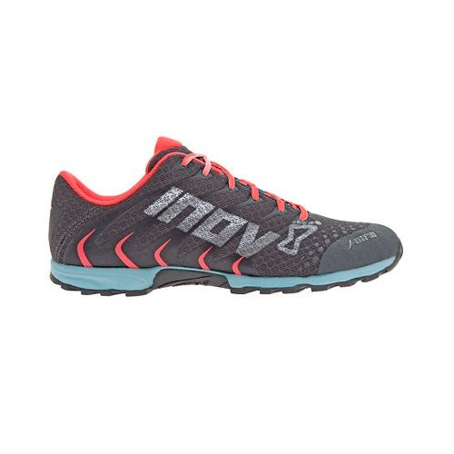 Womens Inov-8 F-Lite 195 Cross Training Shoe - Grey/Blue 7.5
