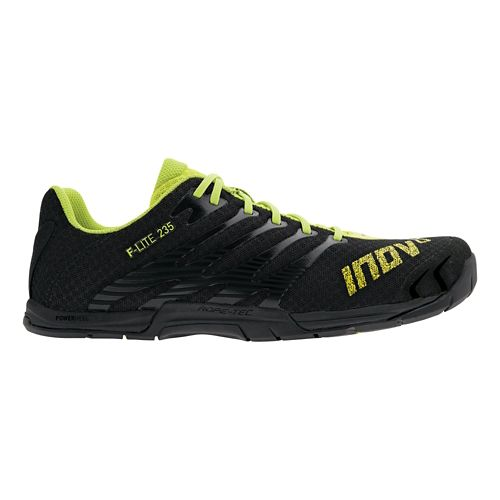 Mens Inov-8 F-Lite 235 Cross Training Shoe - Black/Neon 8.5