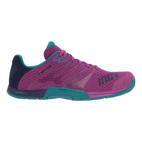 Womens Inov-8 F-Lite 235 Cross Training Shoe - Fuchsia/Teal 9