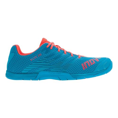 Womens Inov-8 F-Lite 235 Cross Training Shoe - Blue/Pink 7.5