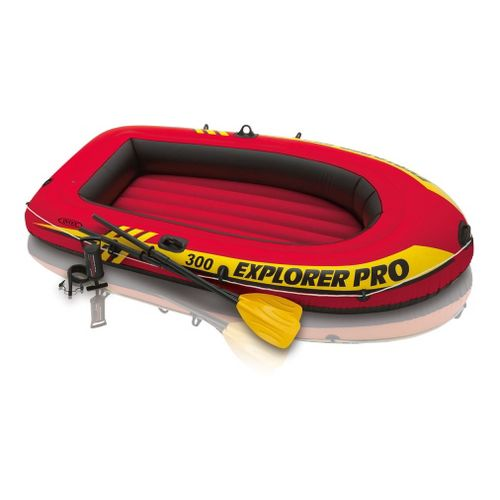 Intex Explorer Pro 300 Set Fitness Equipment - Red/Yellow
