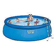 "Intex 15' x 48"" Easy Set Pool Set Fitness Equipment"