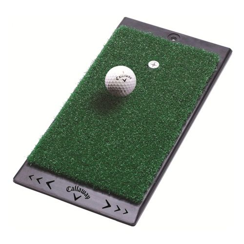 Callaway FT Launch Zone Hitting Mat Fitness Equipment - Green/Black
