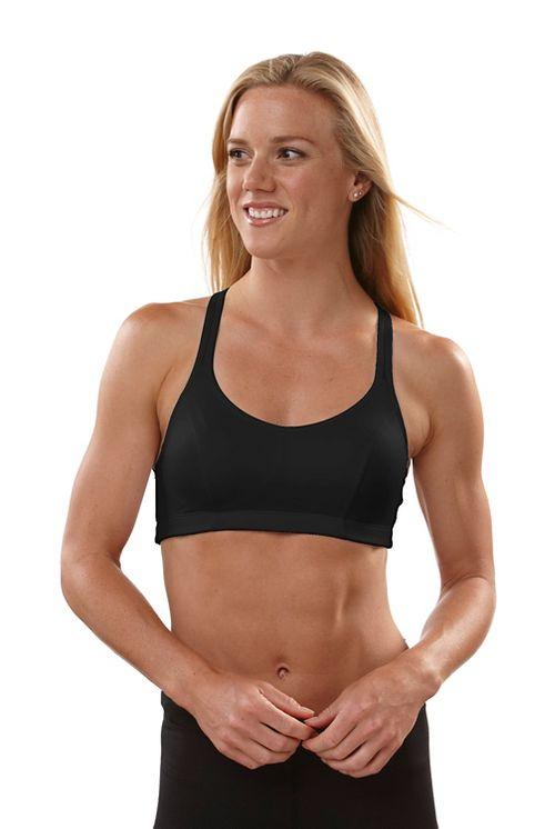 Womens Champion Shape T-Back Sports Bra - Black 32B
