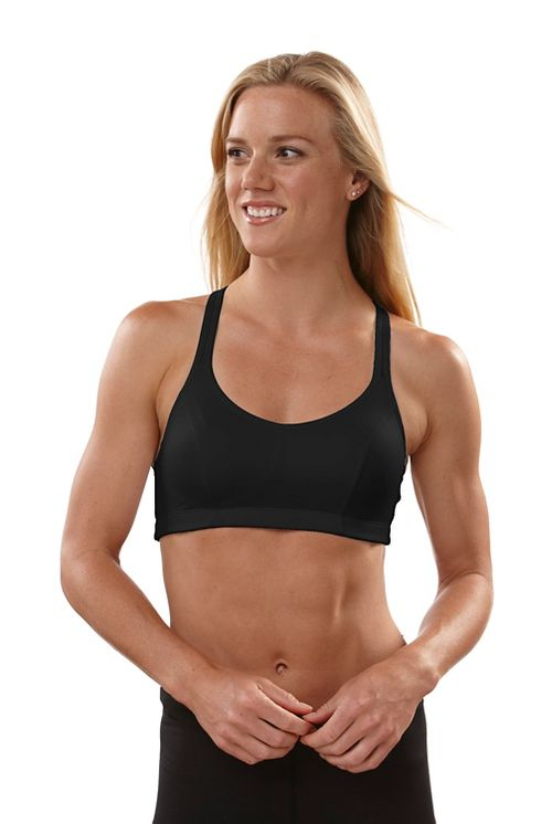 Womens Champion Shape T-Back Sports Bra - Black 34C