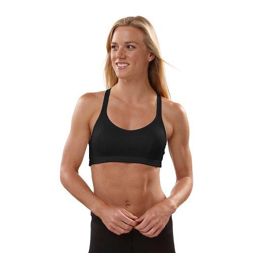 Womens Champion Shape T-Back Sports Bra - Black 34B