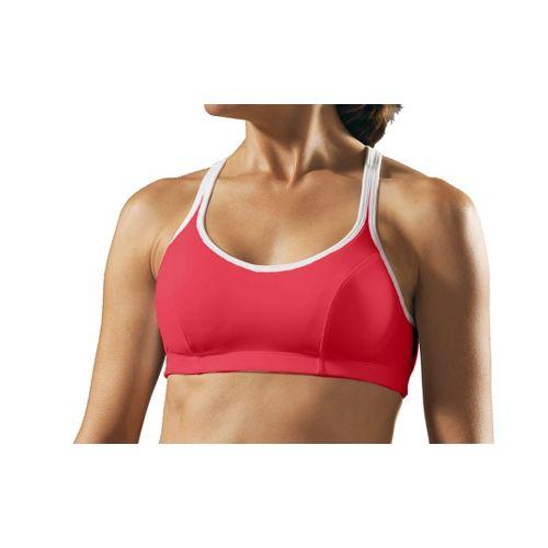 Womens Champion Shape T-Back Sports Bra - Cherry 36B